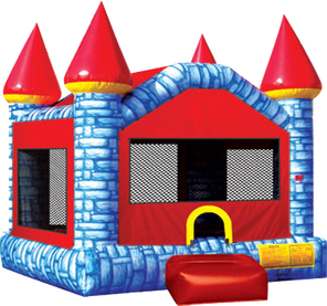 ice castle inflatable bounce house rental