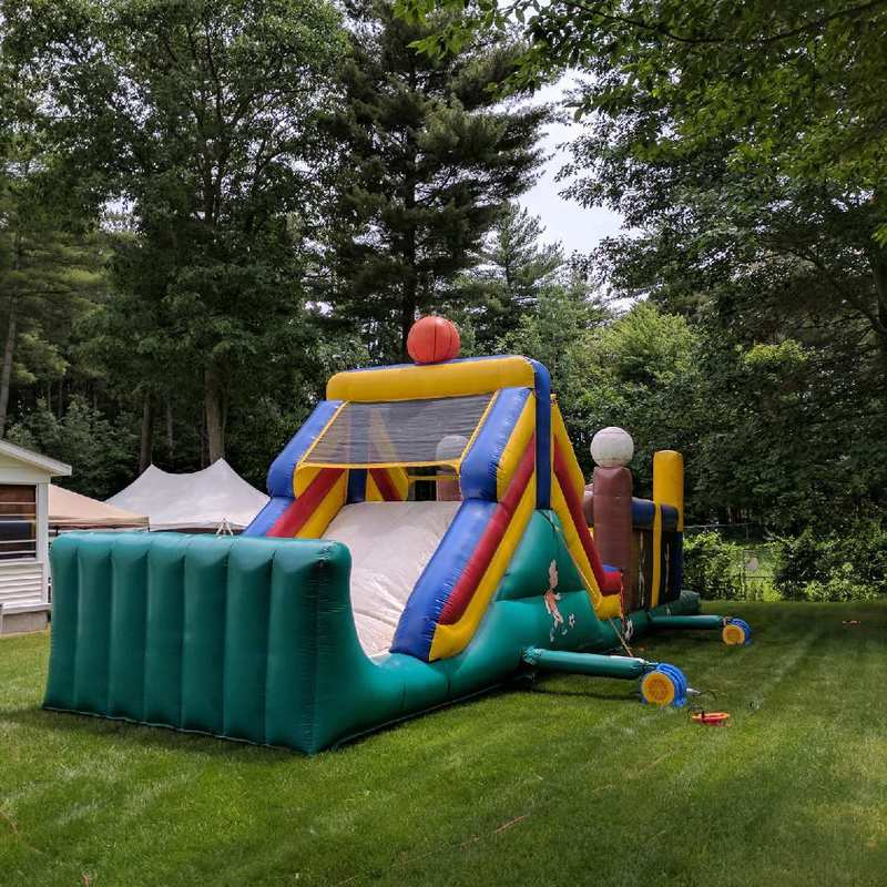 obstacle course bounce rental in Clifton Park