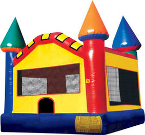 Carnival Castle inflatable bounce rental